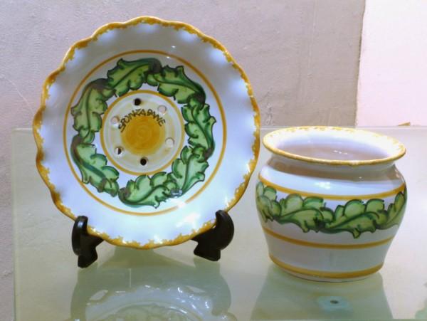 piatti ceramica cilento