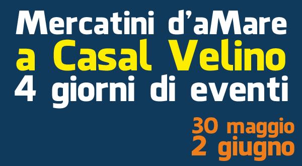 Mercatini d'aMare, 4 giorni di eventi: il programma